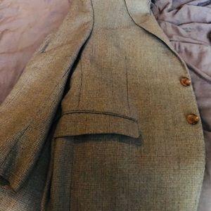 Polo Ralph Lauren light grey light blue blazer
